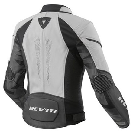 REV'IT! Jacket Xena 3 Ladies, Wit-Zwart (2 van 2)