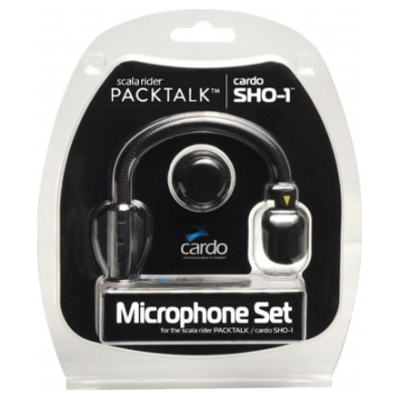 Cardo Systems Microfoon (set) Hybrid + Corded SHO-1/Packtalk/Smartpack/SmartH/Fr, N.v.t. (1 van 1)