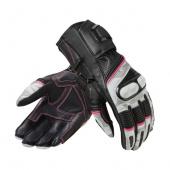 Motorhandschoen Xena 3 Dames - Zwart-Wit
