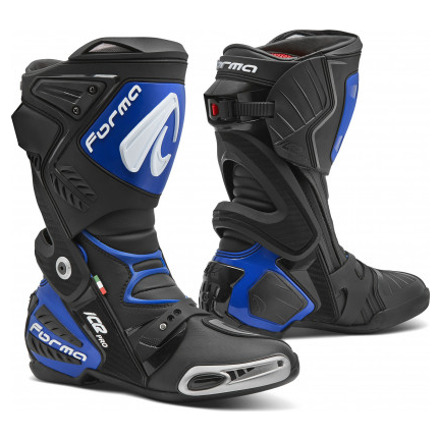 Ice Pro - Zwart-Blauw
