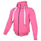 Hoodie Core Ladies Versterkt Met Kevlar - Roze
