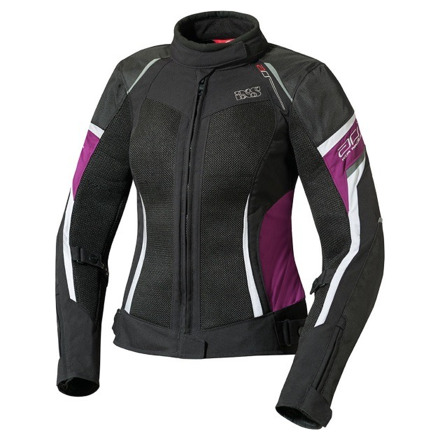 IXS Ixs Jacket Andorra Black-purple-white, Zwart-Violet-Wit (1 van 1)