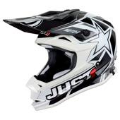 JUST1 J32 Pro Moto X Kids - Zwart-Wit