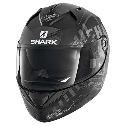 Shark Ridill Skyd  Mat, Zwart-Antraciet-Zilver (1 van 2)