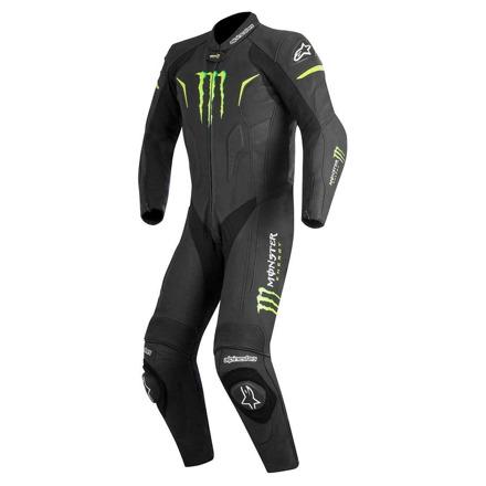 1pc Warg Monster Leather Suit - Zwart-Groen
