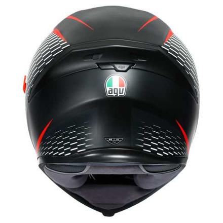 Agv K5 S Agv E2205 Multi Mplk - Zwart-Wit-Rood