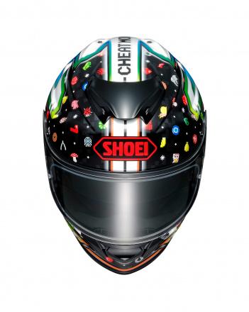 Shoei GT-AIR II LUCKY CHARMS, Zwart-Wit (2 van 3)