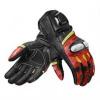 League Motorhandschoenen - Zwart-Rood