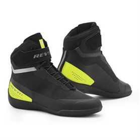 Mission Motorschoenen - Zwart-Neon Geel