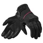Mosca Dames Motorhandschoenen - Zwart-Roze