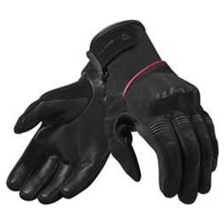 REV'IT! Mosca Dames Motorhandschoenen, Zwart-Roze (1 van 1)