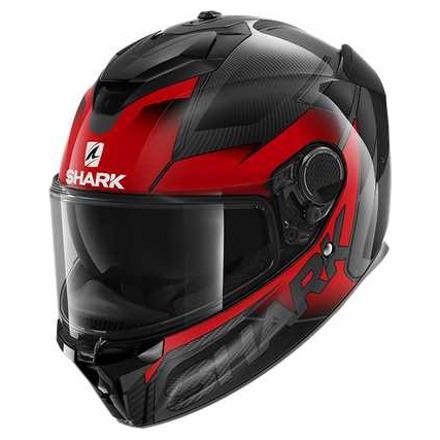 Shark Spartan GT Carbon Shestter, Rood-Zwart-Antraciet (1 van 3)