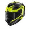 Spartan GT Carbon Shestter - Zwart-Antraciet-Fluor