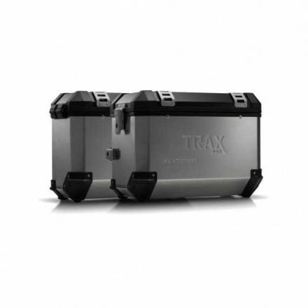 Trax EVO koffersysteem, Kawasaki KLR 650 ('08-). 45/37 LTR. - Zilver