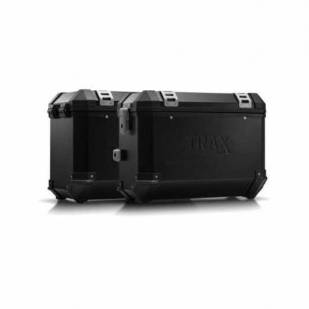 Trax EVO koffersysteem, BMW F800R ('09-)/ F800GT ('13-). 37/345 LTR. - Zwart