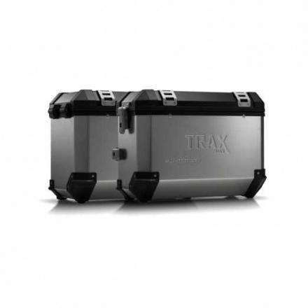 Trax EVO koffersysteem, BMW F800R ('09-)/ F800GT ('13-). 37/345 LTR. - Zilver