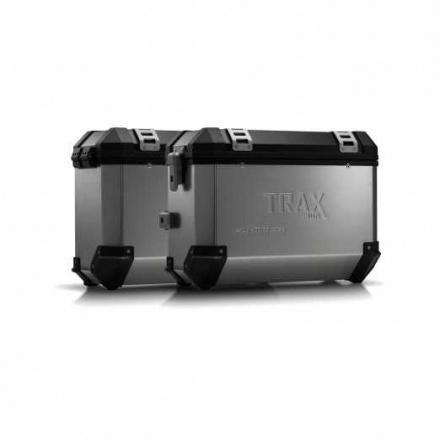 Trax Evo koffersysteem, Ducati Multistrada 1200/S ('10-). 37/37 LTR. - Zilver