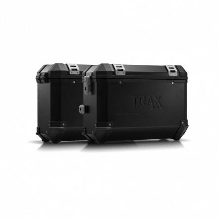 Trax Evo koffersysteem, Ducati Multistrada 1200/S ('10-). 37/37 LTR. - Zwart