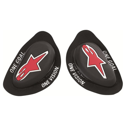 Alpinestars GP Knee Slider, Zwart (1 van 1)