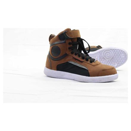 Boots Sneaker - Zwart-Bruin