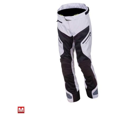 Buran textiele motorbroek - Zilver-Zwart