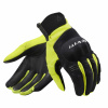 REV'IT! Gloves Mosca H2O, Zwart-Fluor (Afbeelding 1 van 2)