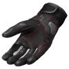REV'IT! Gloves Metric, Zwart-Rood (Afbeelding 1 van 2)