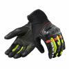 Gloves Metric - Zwart-Fluor