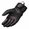 REV'IT! Gloves Sand 4, Zwart-Rood (Afbeelding 2 van 2)