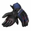 Gloves Sand 4 - Zwart-Blauw