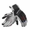 REV'IT! Gloves Sand 4 Ladies, Licht Grijs-Zwart (Afbeelding 2 van 2)