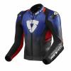 REV'IT! Jacket Quantum 2, Blauw-Rood (Afbeelding 1 van 2)