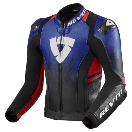 REV'IT! Jacket Quantum 2, Blauw-Rood (1 van 2)