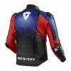 REV'IT! Jacket Quantum 2, Blauw-Rood (Afbeelding 2 van 2)