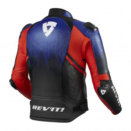 REV'IT! Jacket Quantum 2, Blauw-Rood (2 van 2)