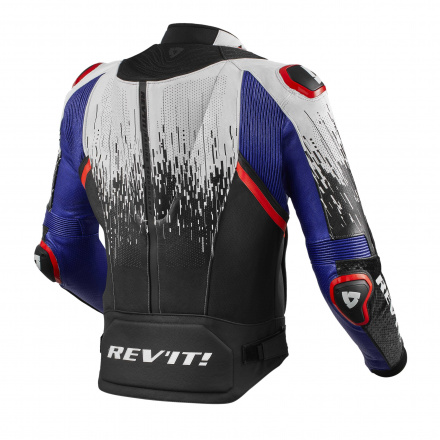 REV'IT! Jacket Quantum 2 Pro Air, Wit-Blauw (2 van 2)