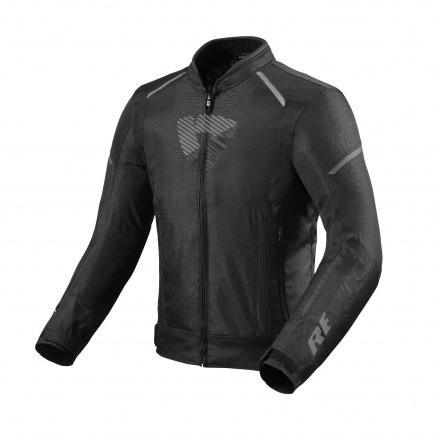 REV'IT! Jacket Sprint H2O, Zwart-Antraciet (1 van 2)
