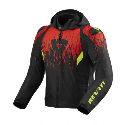 Jacket Quantum 2 H2O - Zwart-Rood