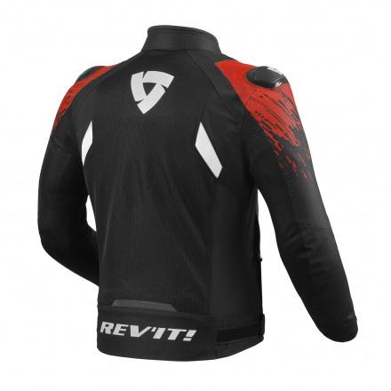REV'IT! Jacket Quantum 2 Air, Zwart-Rood (2 van 2)