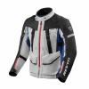 Jacket Sand 4 H2O - Zilver-Blauw