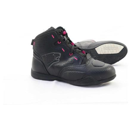 Basket lady - Zwart-Roze