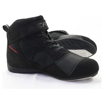 Basket stof - Zwart-Rood