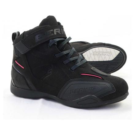 Basket stof - Zwart-Roze