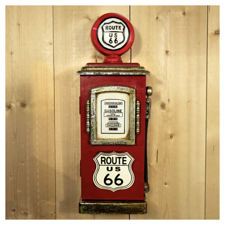 Route 66 Sleutelopberger - Rood