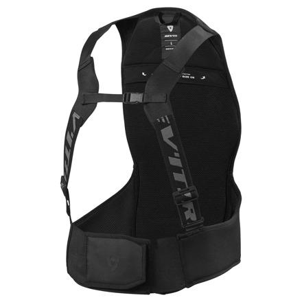 Back Protector Slingshot - Zwart