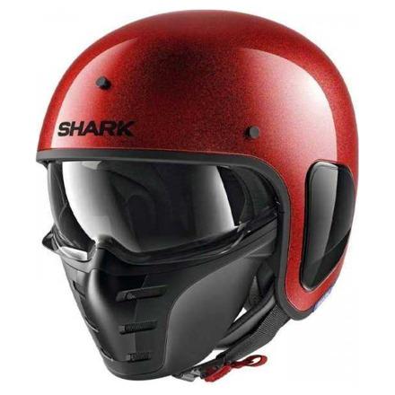 S-Drak jet helm - Rood