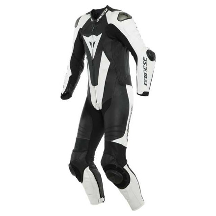 Dainese Laguna Seca 5 1pc Leather Suit Perf., Zwart-Wit (1 van 2)
