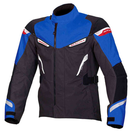 Myth textiele motorjas - Grijs-Blauw-Getint