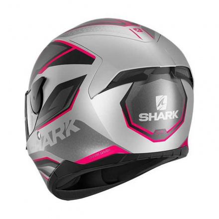 Shark D-skwal 2 Daven Mat, Zwart-Violet-Zilver (2 van 2)