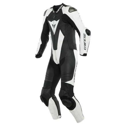 Dainese Laguna Seca 5 1pc Leather Suit Perf. S/t, Zwart-Wit (1 van 2)
